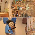 Drewniane ręcznie tworzone anioły i szopki bożonarodzeniowe idealne na upominek